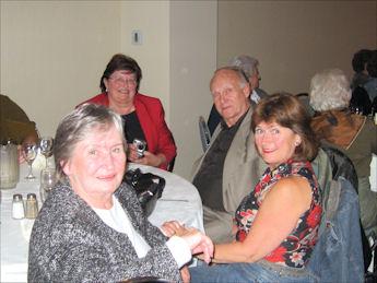 Claudette Legault Maithers, Lillian Delaurier Companion, Clayton Companion et Rachel Trépanier