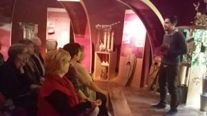 Conférence dans le musée de la Maison amérindienne