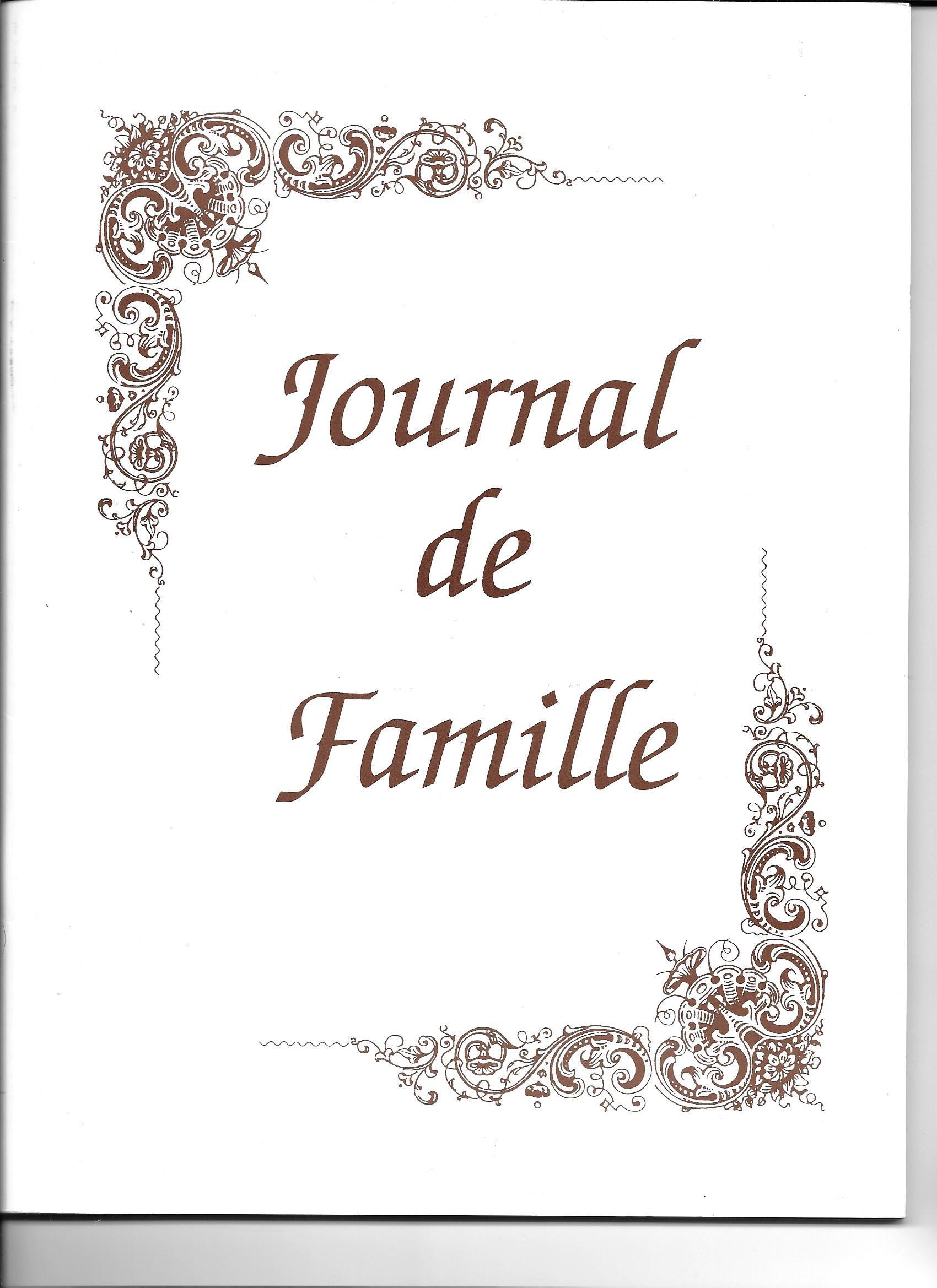 Journal famille